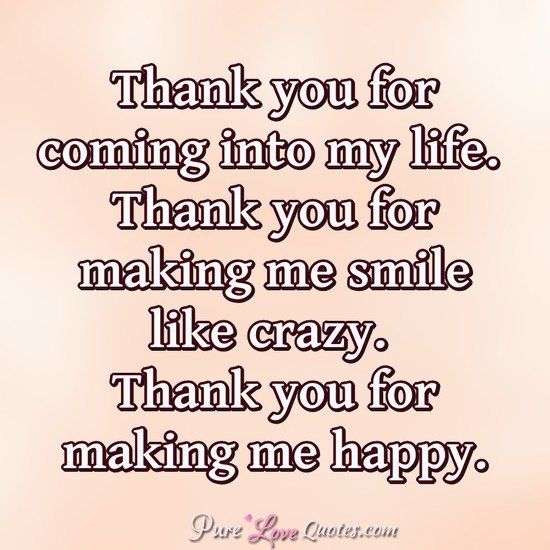 Thank you for making me smile