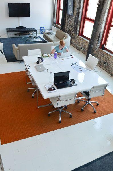 Bivi Modular Office Desk System Features