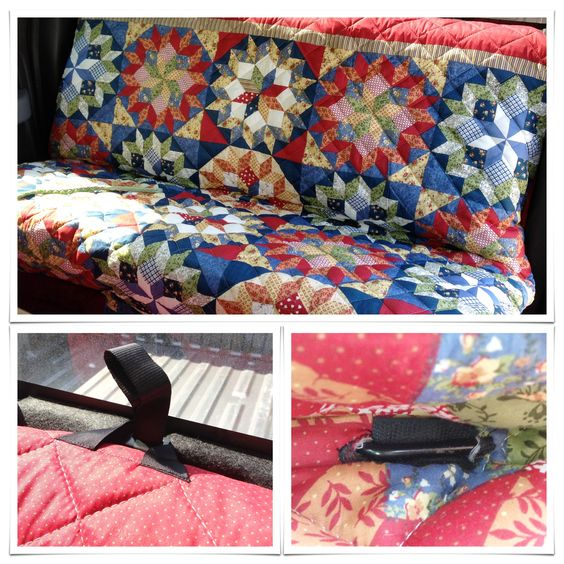DIY dog seat cover