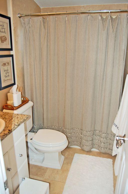 Cute small bathroom makeover jessica bennett interiors casa bath pinterest small - Cute girls bathroom design interior ...