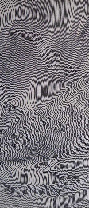 creativity with lines en tela gran formato