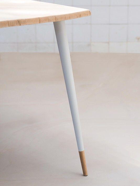 Pieds De Table Basse En Bois Massif Style Scandinave 71cm 23 Pied Pieds De Table Table Basse Bois Pied De Table Design