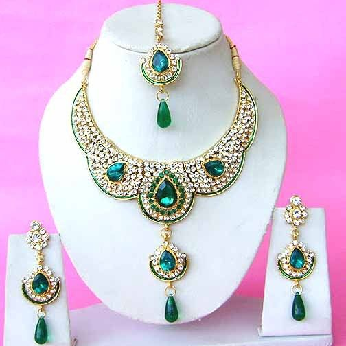 Contemporary Bridal Jewelry Set JVS1091 Bridal Jewelry