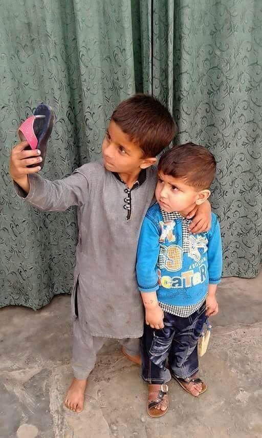 The best selfie by Afghan boys @Afghanistan