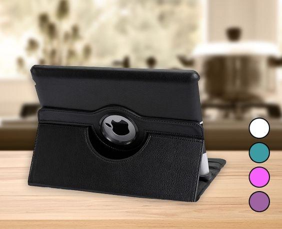 €12,95 ipv €49,95 - Roterende iPad/Tablet Case. Geschikt voor verschillende tablets http://ikwildagaanbiedingen.nl/