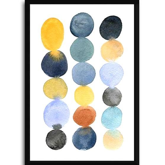 Colorstacks Lukisan Dinding Unik Online Hiasan Rumah Arti In 2020 Wall Art Canvas Prints Tag Art Art Prints