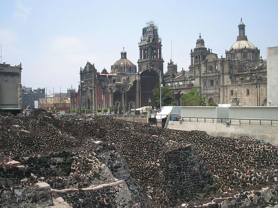 Templo Mayor and Cathedral ~ #Mexico