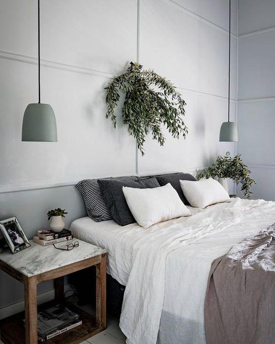 寝室ペンダントライト例