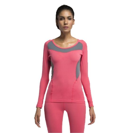 Xing Show Women's/ladies' Breathable Mesh Short Sleeve Running Fitness Workout Compression Base Layer Sports Top Tight Shirt (L, Watermelon Red). Material and version type:Polyester ammonia and short sleeve tight tops. Find your size on the chart below.If you prefer a looser fit, go up a size. Super stretch tights,it has excellent wicking and quick-drying function. The back use Breathable mesh design,the sweat and heat can be rapidly away from the body surface,keep cool and comfortable...