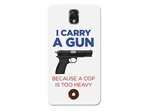 Peneric® Gun Pistol Shape Plastic Material Back Case Cover for Apple iphone 6 4.7 Inch (black)