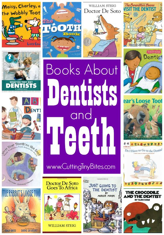 Childrens #books about dentists and teeth. #kidlit