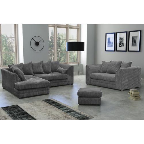 Brayden Studio 4 Piece Sofa Set | Sofa Set, Corner Sofa Set, Home Living Room