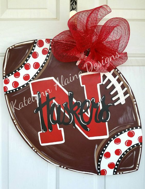 Check out this item in my Etsy shop https://www.etsy.com/listing/247851938/24-nebraska-huskers-college-football