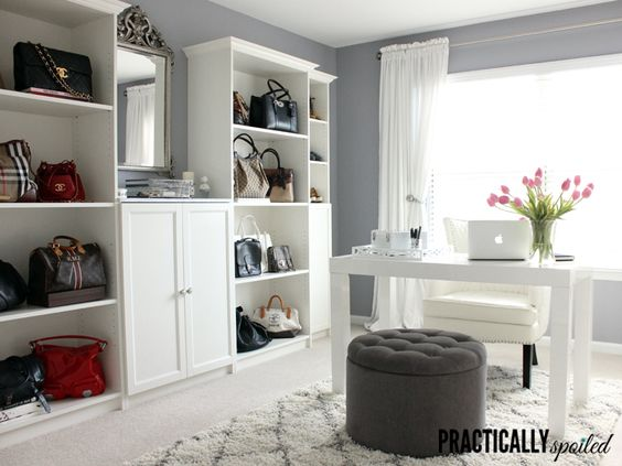 My Practical Yet Spoiled Office Tour - practicallyspoiled.com