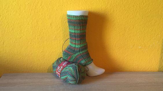 Herren-Socken stricken aus dem Opal-Abo März 2016