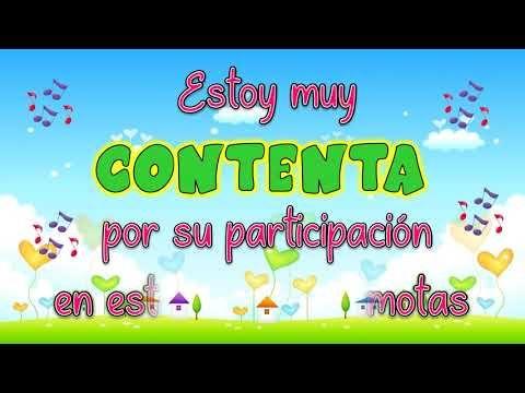 Gracias Canción Para Despedir Las Clases Virtuales Youtube Educacion Preescolar Etiquetas De Material Escolar Asistencia A Clase