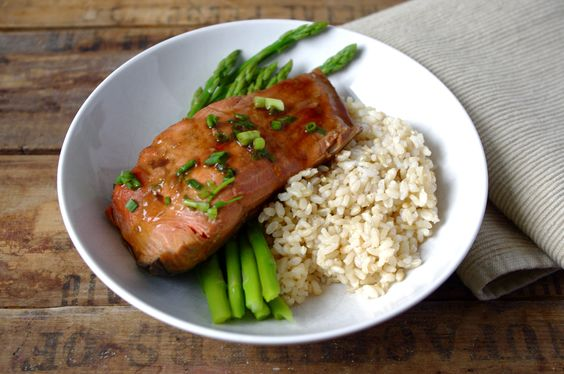 ... Pan-Seared Chicken with Carrots and Shallots, Soy-Glazed Salmon with