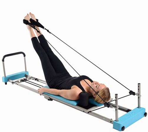 Getting to the gym can be difficult. But with the Reformer Plus, you can pencil in an AeroPilates exercise session whenever you have free time--without leaving your home. QVC.com:
