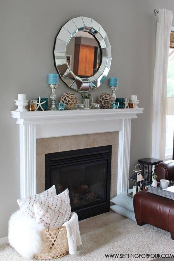 decor mantles decor costal fireplace decorating fireplace fireplace