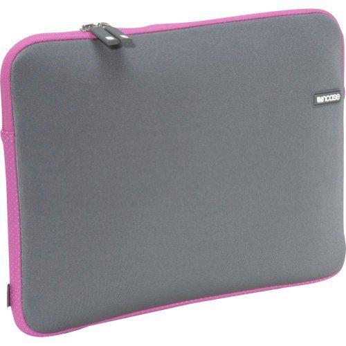 "Amazon.com: Incase CL57440 Neoprene Sleeve for MacBook Pro 13"" (Slate/Carnation): Computers & Accessories"