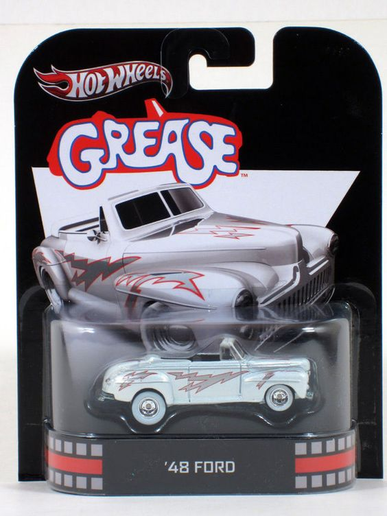 Hot Wheels Retro Entertainment Grease '48 FORD - 1:64 Scale AsstF #HotWheels