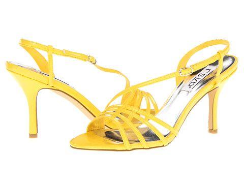 RSVP Jirra Yellow Zappos - would need heel savers.