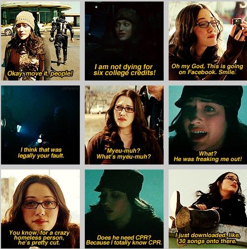 Darcy- one of the best characters in Thor. ;-)