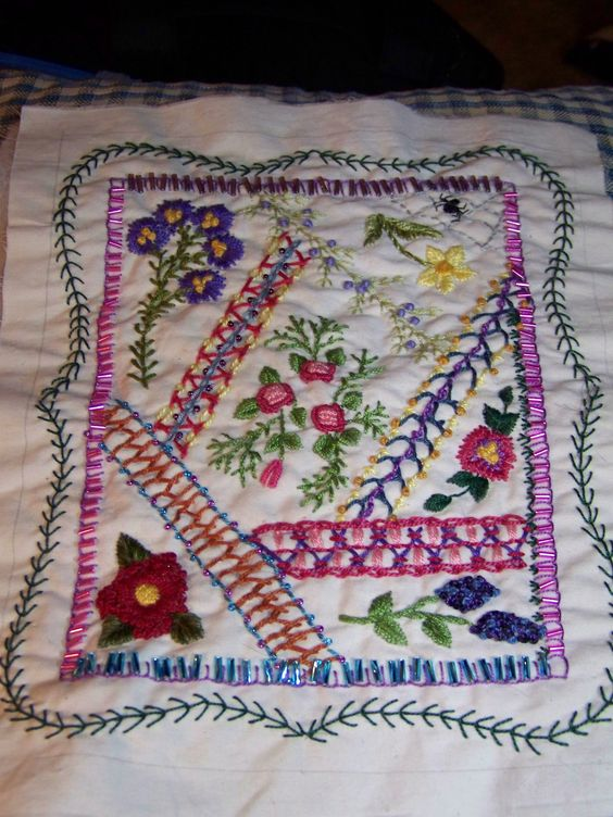 Another Martha Offut pattern...but my work.  2012