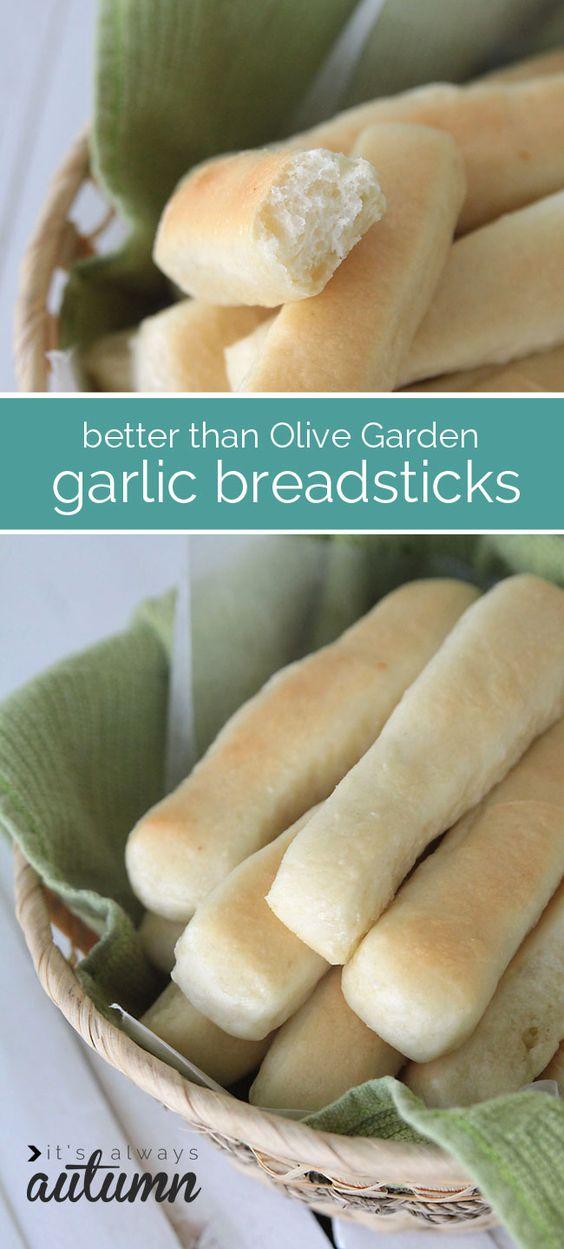 Garlic Breadsticks Olive Gardens And Garlic On Pinterest