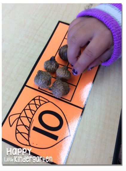 Fall and Thanksgiving Math and Literacy Centers