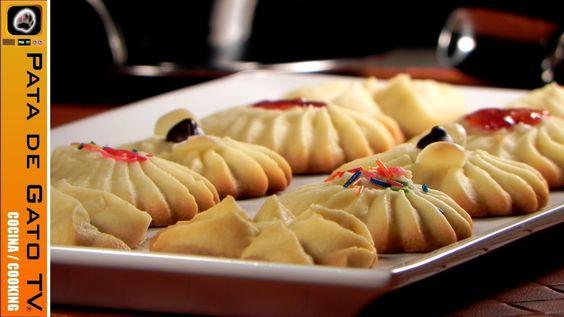 Galletas de Mantequilla, fáciles y deliciosas / Butter cookies, easy and...