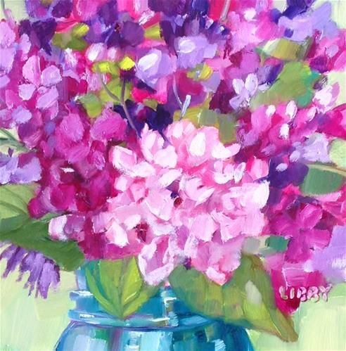 """Daily Paintworks - """"Heart Mending"""" - Original Fine Art for Sale - © Libby Anderson"""