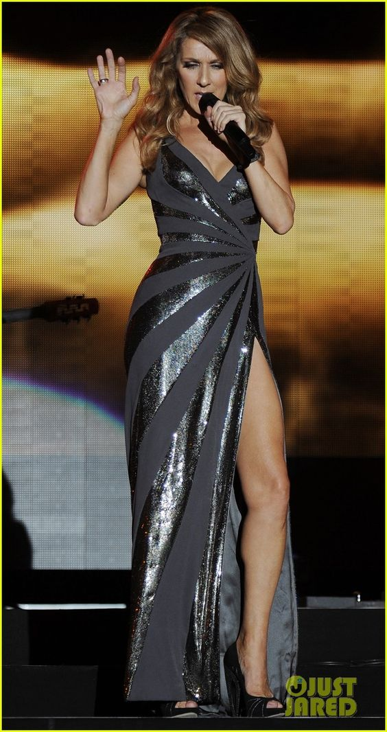 Celine Dion!Wow! in love with this dress. have been before the show even came out, when i saw it on her exclusive inside scoop interview XP