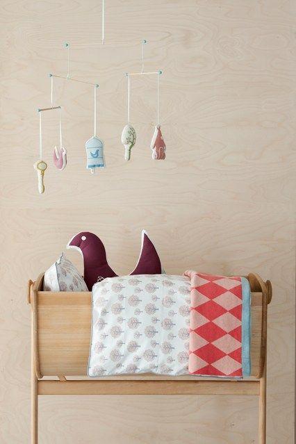 Baby Mobile - Kids Bedroom Ideas - Children's Room Decorating (houseandgarden.co.uk)