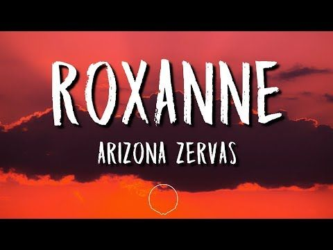 Arizona Zervas Roxanne Clean Lyrics Youtube In 2020 Arizona Outdoor Gardens Lyrics Feeling, feeling dreamy as i float along your waist and i'm smelling at these dreams, i can yeah, i'm feeling, these dreams feel these dreams again taking hold of myself in your control lose all feels, lose yourself to the moment, to no one else. arizona zervas roxanne clean