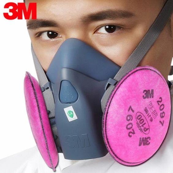 masque 3m charbon