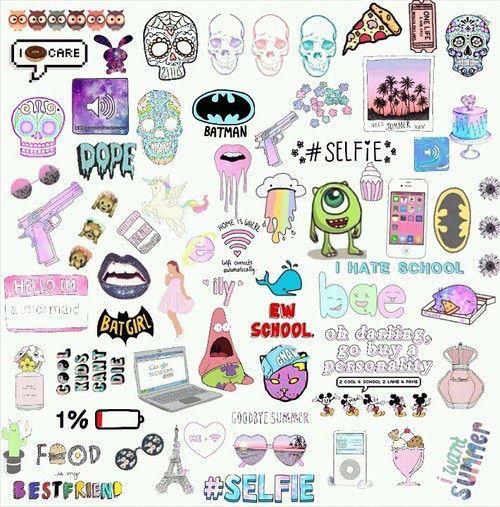 Resultado De Imagem Para Overlays Png Cute Stickers Aesthetic Stickers Tumblr Stickers