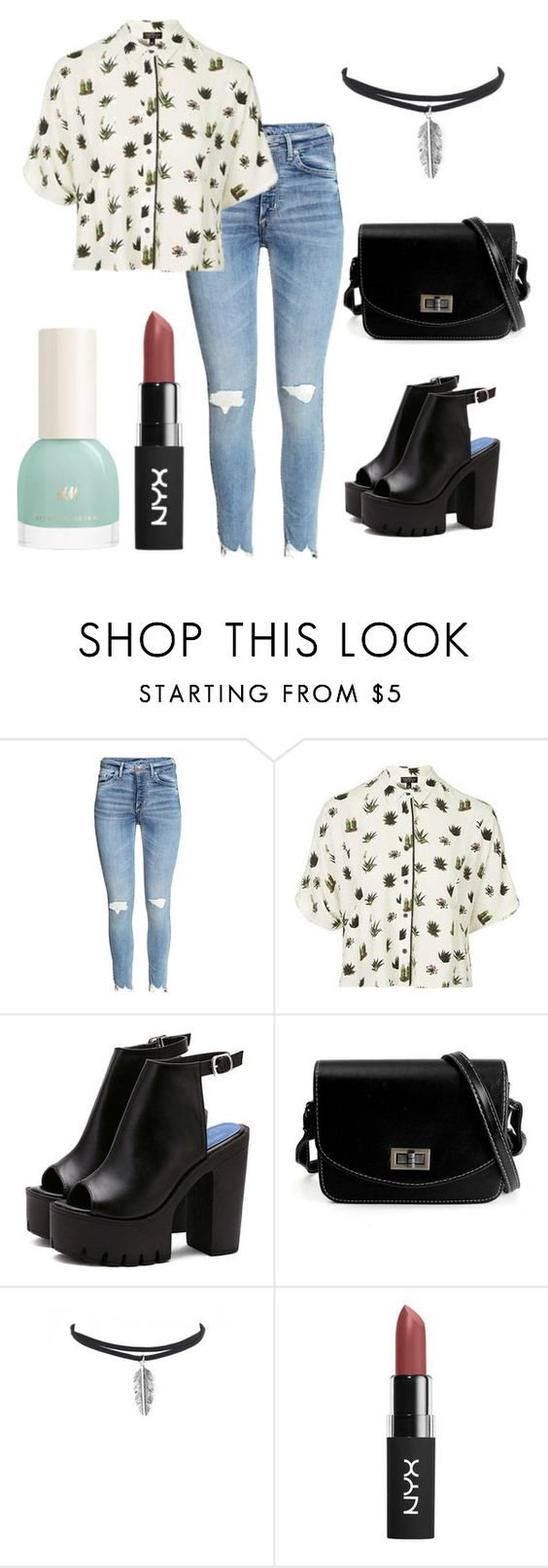 """""""Pyjama Trend #1"""" by eclecticellen ❤ liked on Polyvore featuring Topshop, trend and pyjamas"""