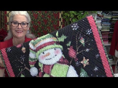 How to Turn Quilt Panels into a Chenille Quilt