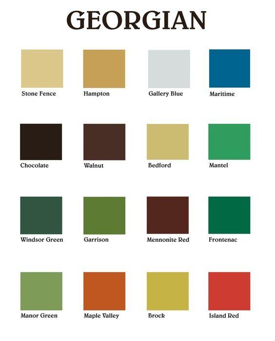 Vintage color palettes on pinterest vintage color schemes vintage - Georgian Paint Colours Interior Google Search Paints