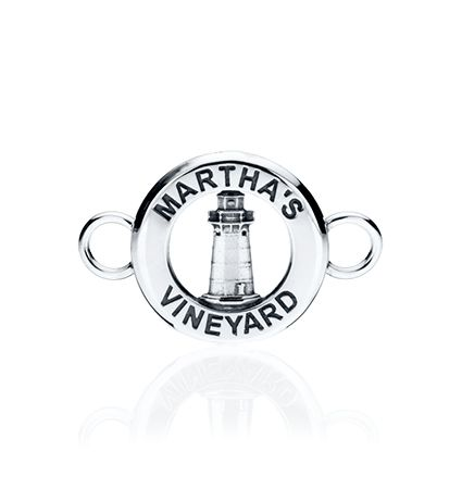 CBStark Jewelers - Edgartown Lighthouse Medallion Changeable Bracelet Top in sterling silver, $95.00 (http://www.cbstark.com/collections/edgartown-lighthouse-medallion-changeable-bracelet-top-in-sterling-silver/)