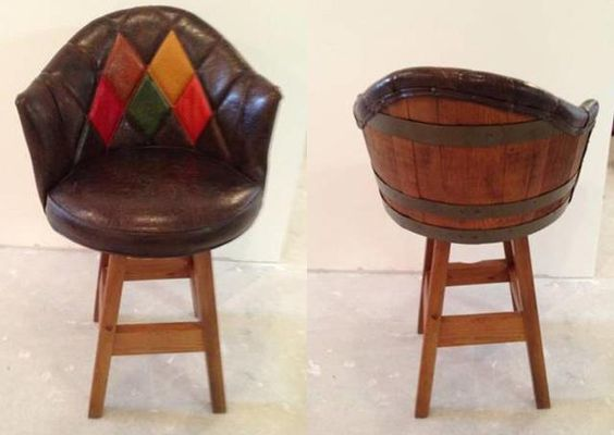 Awesome barrel chair!