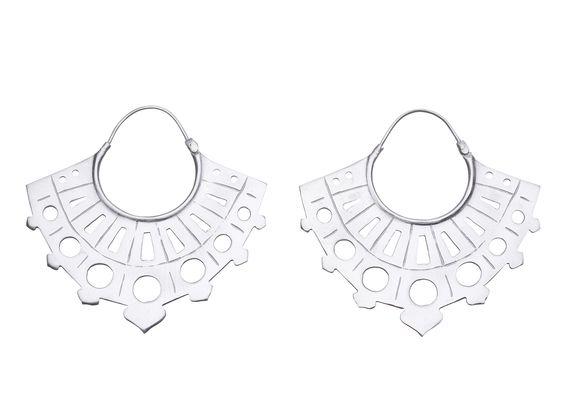 Stunning oriental fan earrings (various designs)