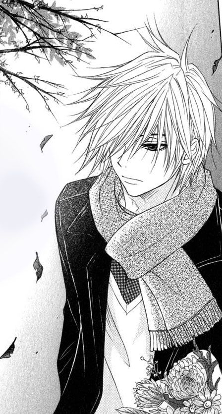 Kurosaki Tasuku!!! My favorite delinquent janitor/genius hacker!!<3  After seeing this again, I feel the need to read this manga again!!
