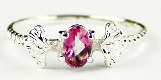 SR192, .50ct Pure Pink Topaz, 925 Sterling Silver Ring * Stone Type - Pure Pink Topaz * Approximate Stone Size - 6x4mm  * Approximate Stone Weight - .50 ct  * Jewelry Metal - Solid .925 Sterling Silver  * Approximate Metal Weight - 2.4 grams  * Ring Size - Size selectable during checkout * Our Warranty - A full year on workmanship  * Our Guarantee - Totally unconditional 30 day guarantee