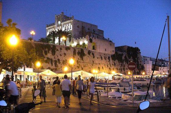 Menorca night
