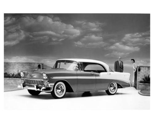 1956 Chevrolet Bel Air Sports Sedan Factory Photo M2536 Vhczze