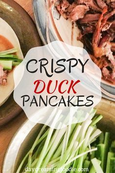 Crispy Duck Pancakes Ridiculously easy and extremely impressive for a dinner party starter!