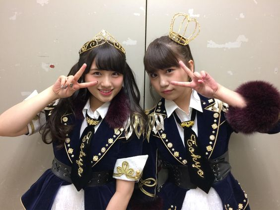 大和田南那と小嶋真子