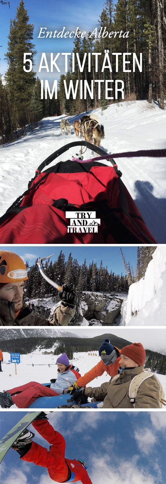 5 Aktivitäten im Winter in Alberta